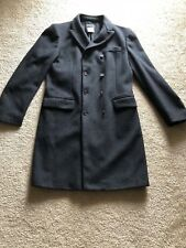 pre own men's D&G Dolce&Gabbana grey wool coat outerwear jacket size 34/48