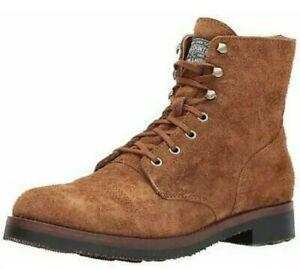 Polo Ralph Lauren Enville Roughout Suede Leather Lace-up Boots  Size uk 7 eu 41