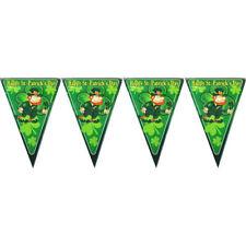 St Patricks Day Fahne Flagge 150 x 90 cm Dekoration Feiertag Parade Gedenktag