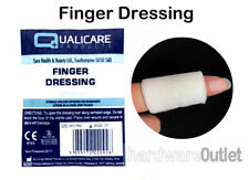 Qualicare FINGER DRESSINGS / BANDAGES available in 2 Styles First Aid