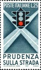 # ITALIA ITALY - 1957 - Sicurezza Stradale Road Safety Traffic Light - Stamp MNH