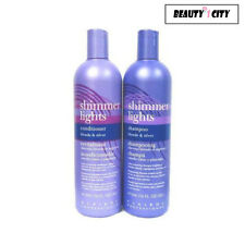 Clairol Shimmer Lights Shampoo 16oz and Conditioner 16oz