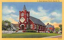 Emporia Virginia Christ Episcopal Church Postcard c1940s