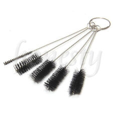 5 x Tattoo Cleaning Brushes Set Machine Tube Grip Tip Nozzle Body Art Accessory