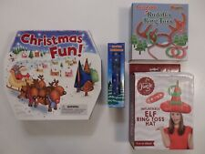 Xmas Fun Activity Box, Kaleidoscope or Inflatable Rudolf's or Elf Ring Toss Game