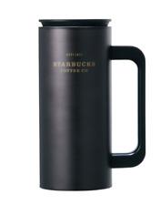 Starbucks Korea SS Black Heritage Newton Tumbler 355ml (12oz)