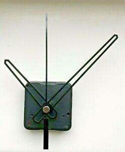 Clock Movement - Quartz Black Sweeping Hands - AA Battery Powered - Mechanism UK