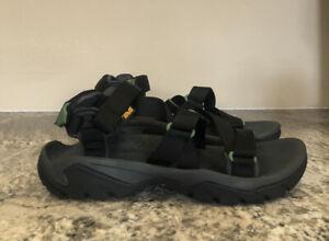 Teva Men's Terra Fi 5 Universal Sport Sandals Black / Grey / Green 10 US $110