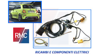 Kit cablaggio modifica fari fanali posteriori stop led fiat 500 restyling abarth