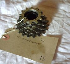SACHS 7 SPEED FREEWHEEL, 12-19,  ISO THREADS
