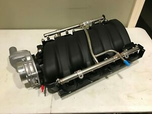Chevy GM LS7 Intake Manifold New OEM Sensor Throttle Body Fuel Rail 12663489