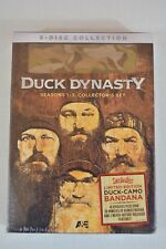 NEW Duck Dynasty Season 1-3 Collector's Set (DVD 2013 8-Disc Limited Edition )