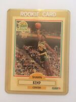 1990 Fleer 178 SHAWN KEMP Rookie Card RC Seattle Supersonics NM-MT or Better