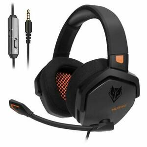 NUBWO N16 PS4 Headset Xbox one Stereo Gaming Headset Noise Cancelling in-line Co