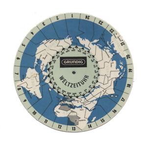 Grundig Weltzeituhr  Zeitzonen DX Rundfunkfernempfang