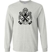 Springfield Armory Black Logo Long Sleeve Shirt 2nd Amendment Pro Gun Tee New