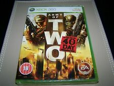 Army of Two: The 40th Day Xbox 360 **New & Sealed**