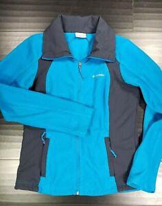 Columbia Full Zip Fleece Jacket Womens Medium