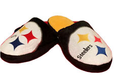 NFL Pittsburgh Steelers Mens Slippers XL 13-14  Size Team Colors