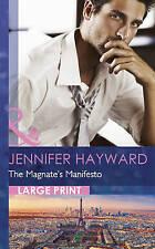 The Magnate's Manifesto (Largeprint Romance) by