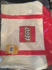 LEGO Exclusive Canvas Tote Bag New With  Lego Logo With Tag Sealed
