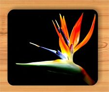 FLOWER BIRD OF PARADISE MOUSE PAD -uty6Z
