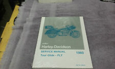 NOS STOCK HARLEY 1980 SHOVELHEAD TOUR GLIDE FLT SERVICE MANUAL NEW NEVER OPENED