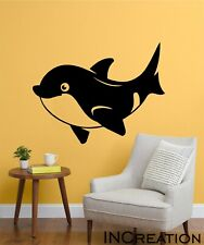 Dolphin Vinyl Wall Decal Nursery Room Wall Sticker Children murals Removable