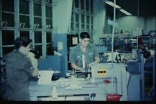 Org Photo Slide Military Soldier 1960 Portugal Vietnam Base Camp AFB industry a