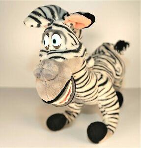 """2005 RUSS Marty Zebra 15"""" Large Madagascar Movie Plush Stuffed Zoo Animal"""