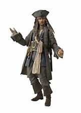 S.H.Figuarts Pirates of the Caribbean CAPTAIN JACK SPARROW Figure BANDAI NEW F/s
