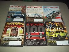 2011 AUTOWEEK MAGAZINE LOT OF 26 ISSUES - GREAT CARS AUTOMOBILES ADS - M 416