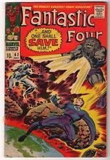 Marvel Comics VG+ FANTASTIC FOUR #62  BLASTARR   Inhumans
