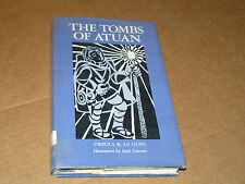THE TOMBS OF ATUAN - true 1st/1st - Ursula K Le Guin rare novel
