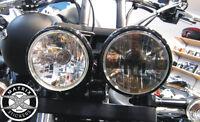 Sticker de PHARE UNION JACK Street Speed Triple Triumph Rocket 3 - BLACK Rond