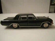 "VTG RUSSIAN CCCP - ZIL-117 1:43 DIECAST USSR BLACK CAR IN BOX 5"" - MINT - TUB RS"
