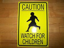 1 Caution Watch Children Vinyl Decal Sticker For Ice Cream Truck  Water Ice Van