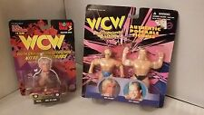 WCW Posable Figures and Rick Flair Nitro Streetrods 1/64 scale toy car