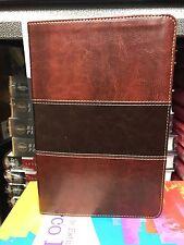 Biblia Del Pescador, Caoba Simil Piel de Lujo Reina valera : Evangelismo Disci