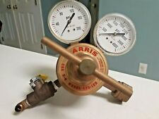 Harris 425 125 Cga E 4 Gas Pressure Regulator Dual Gauge 0 2004000 W Valve
