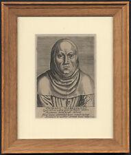 Antique Print-PORTRAIT-GEORGIUS MACROPEDIUS-JORIS LANCKVELT-Galle-1572
