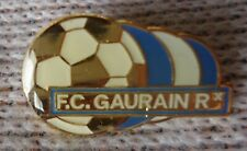 Pin Badge Fussball F.C. Gaurain Belgien # 1387