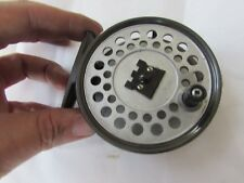 V good vintage hardy viscount 130 trout fly fishing reel 3 + 3/8ths