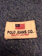 VINTAGE Ralph Lauren Polo Jean Carpenter Flag Shorts Sz 30
