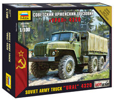 """Zvezda 1/100 armée soviétique CAMION """"Oural"""" 4320 # 7417"""