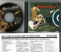STATUS QUO Roll Over Lay Down JAPAN-ONLY CD w/INSERT PHCR-1501 NO OBI Free S&H