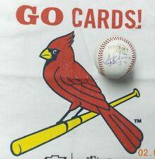 Mike Matheny autographed Rawlings 2013 World Series MLB Baseball
