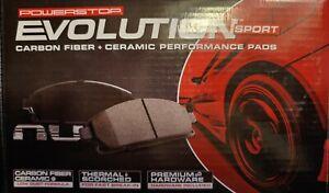 For Lexus IS250 06-15 Brake Pads Power Stop Z23 Evolution Sport Performance