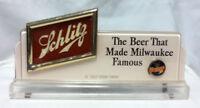 Schlitz beer sign vintage 40's bar signs 1 register topper shelf display old ZB8