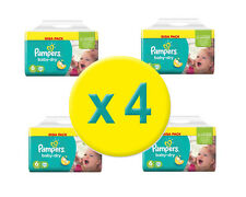 368 Couches Pampers Baby Dry GIGA Taille 6 ,  15+ Kgs - Nouveau emballage